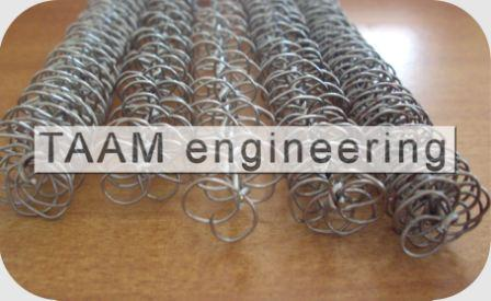 Stainless Steel Wire Matrix Tube Inserts
